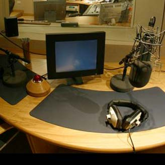 voice over table