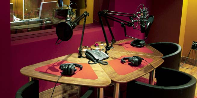 Music 4 Voice Over table