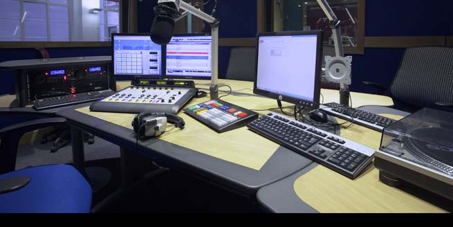 Jazz FM Radio desks