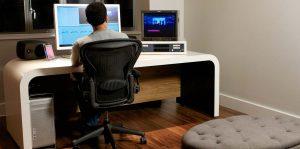 Unit Media Edit desk