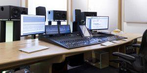 Giles Martin Avid S6 desk