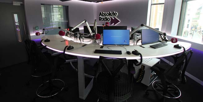 Absolute Radio - studio 1