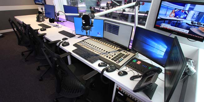 Absolute Radio - producers desk