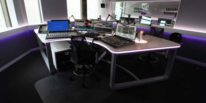 Absolute Radio - radio desk
