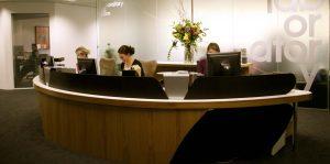 AMVBBDO Reception desk