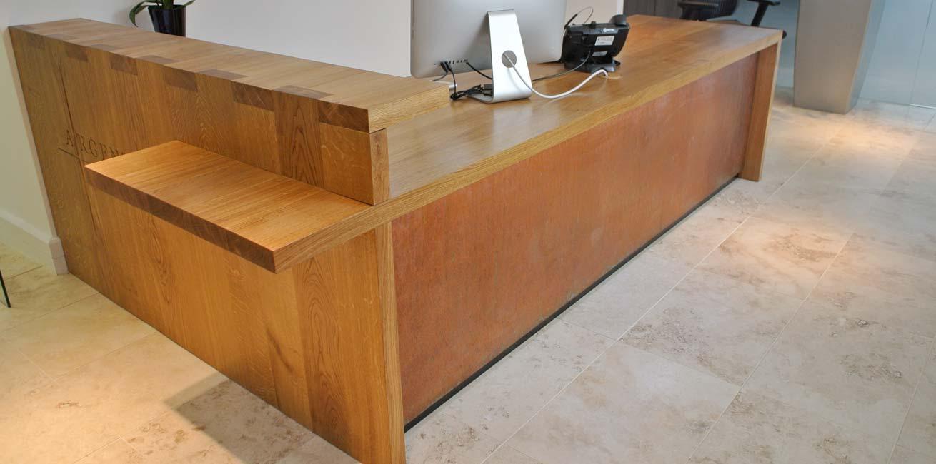 Argentum Reception Desk