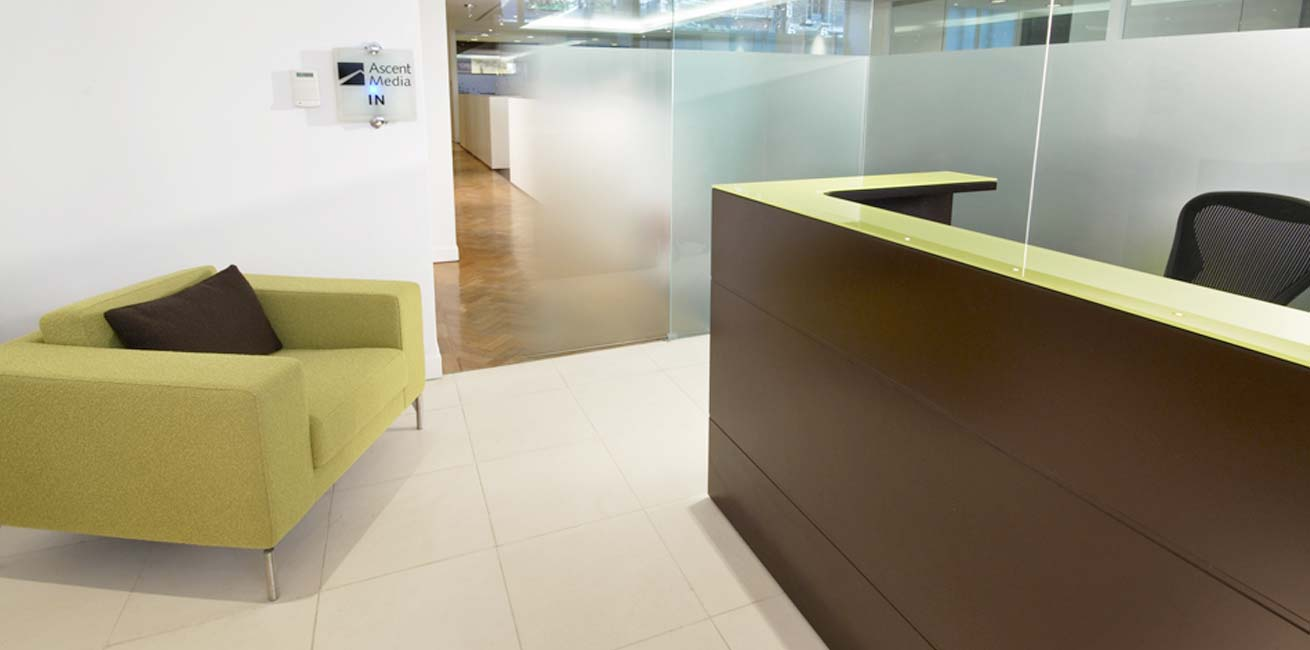 Ascent Media reception desk
