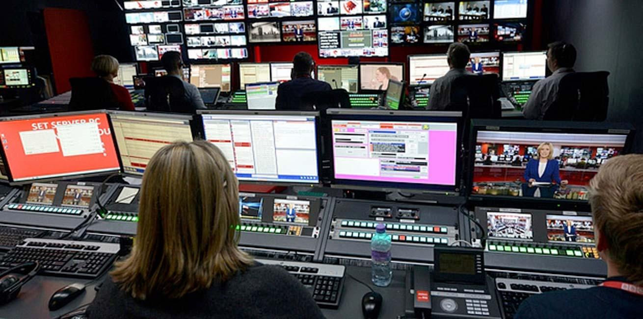 BBC W1 Control room