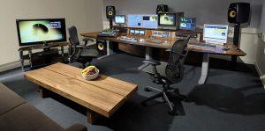 BBC Editing suite