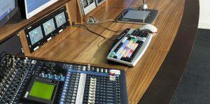 BBC Editing desk - detail