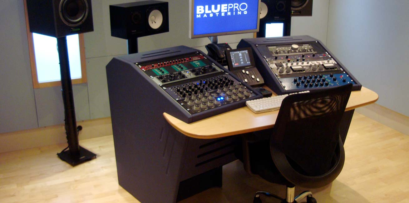 Blue Pro Mastering Custom Avid S6 Desk