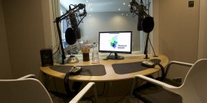 Clear cut studios voice over desk