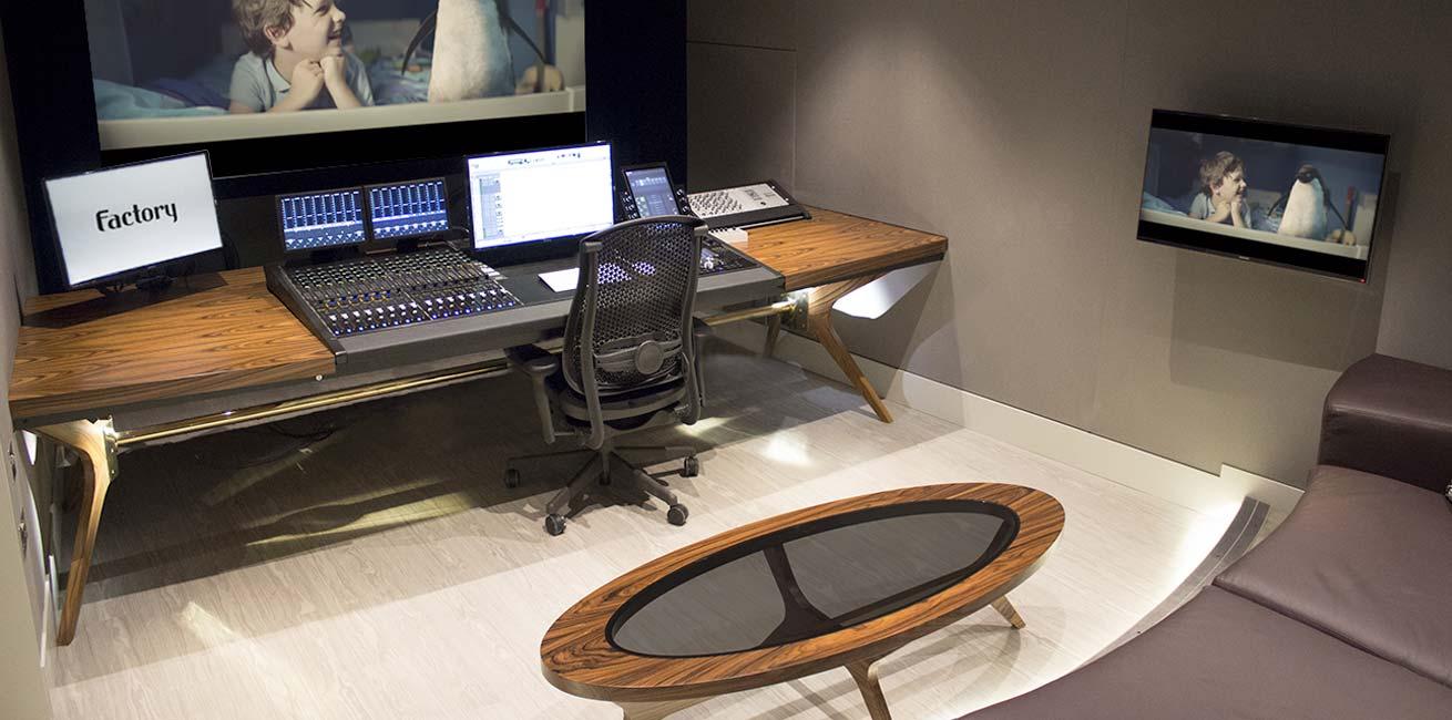 Factory Studios Avid S6 desk