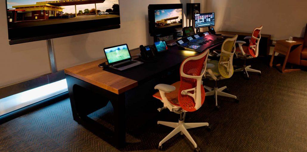 Aka Design Custom Grading Desks For Filmlight Baselight