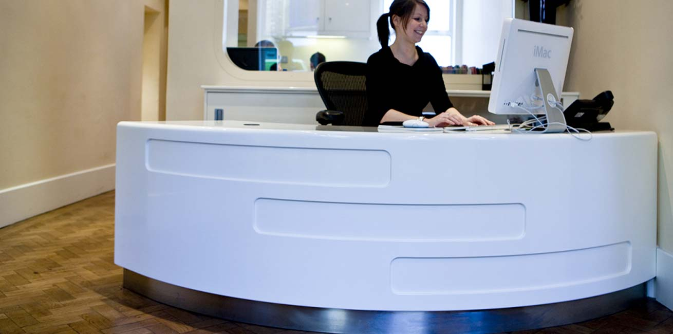 Farm reception desk