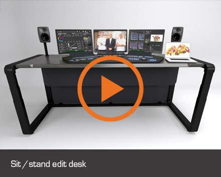 sit stand edit desk