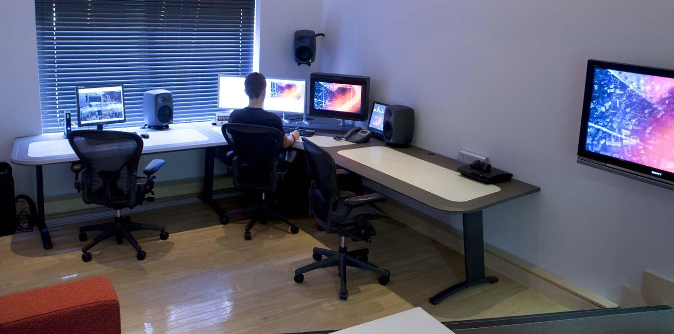 Molinare edit desk