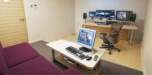 MTV Amsterdam edit suite