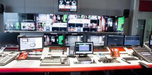 News International control room
