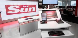 News International presenters desk