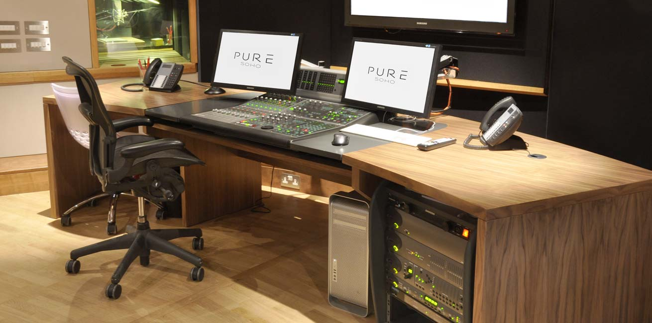 Pure Soho audio desk
