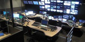 QVC Japan control room