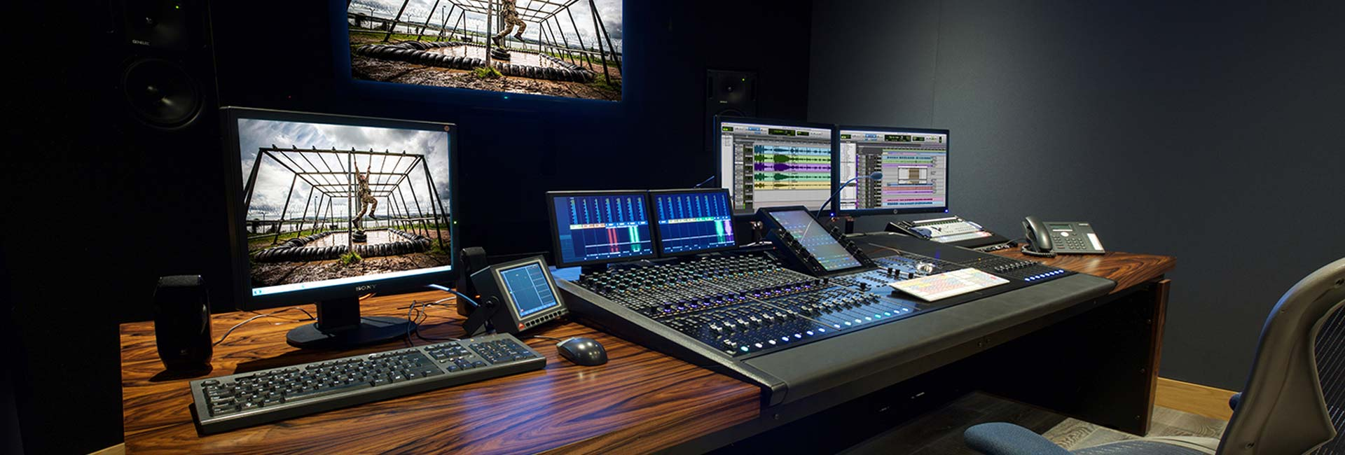 Evolutions custom Avid S6 desk