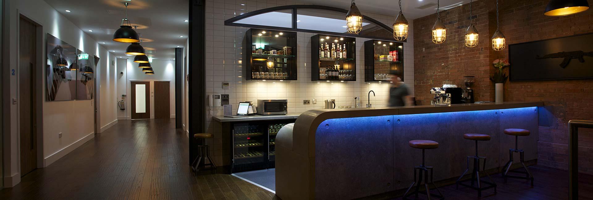 Big Bouy reception and bar
