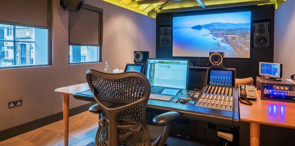 AKA Design - Editing, Grading & Audio studio furniture for the post