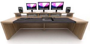 Technicolor Edit desk 3D visual