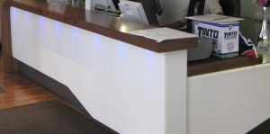 Tequila reception desk