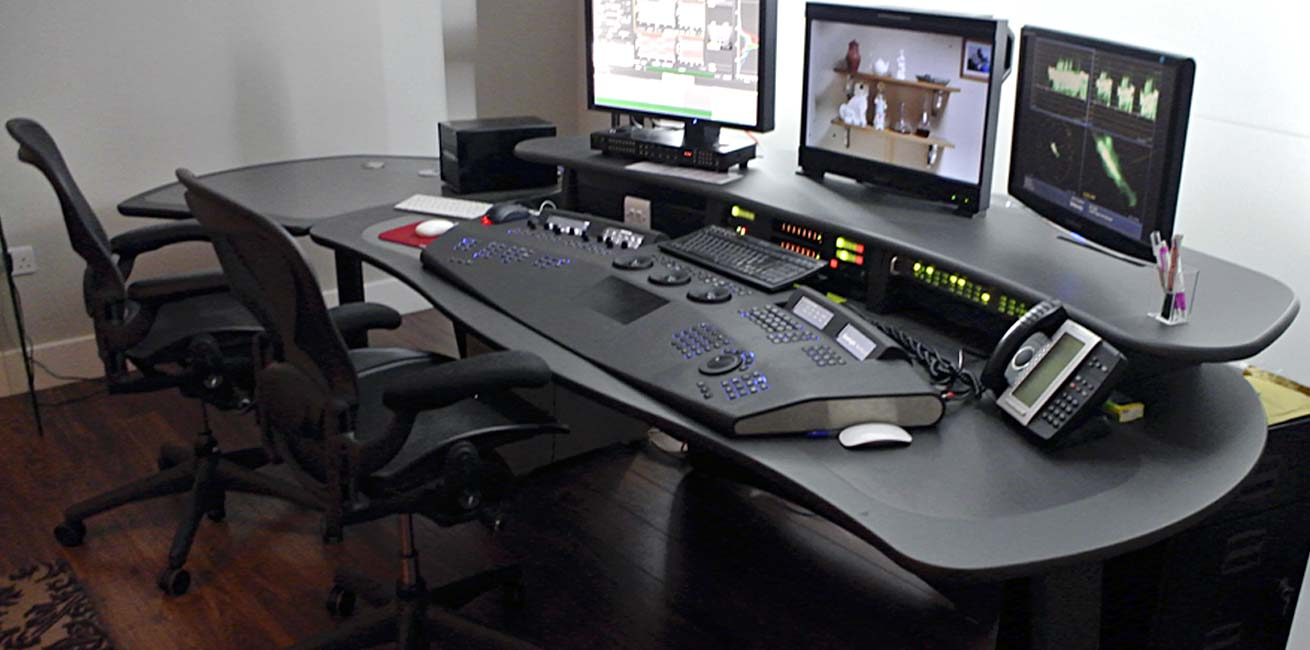Unit Media grading desk