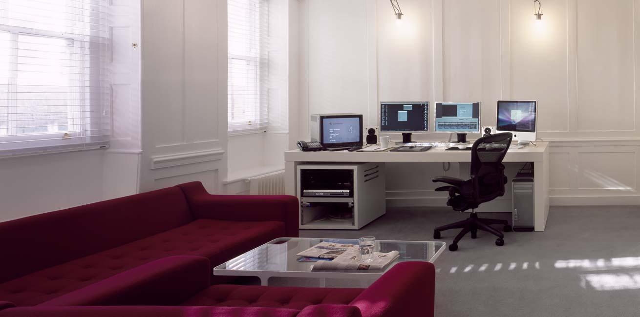 Whitehouse studios edit desk