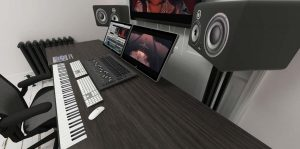 Metronome 3D Visual gaming audio