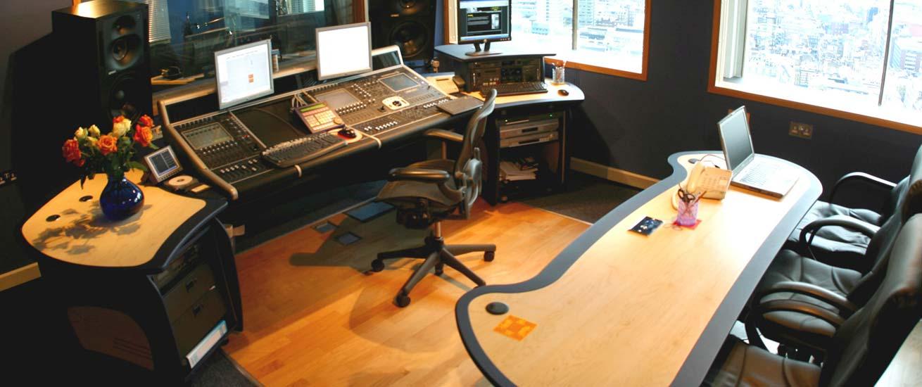 Aka Design Technical Studio Furniture Audio Desks For Digico Consoles