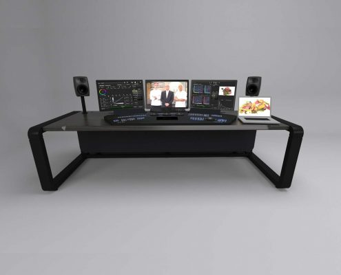 Splice sit stand grading desk