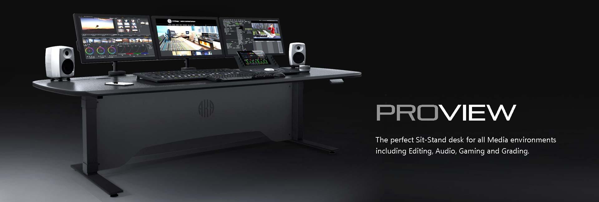 Picture of: Aka Design Design Manufacture Of Edit Desks Grading Desks Audio Desks And Broadcast Consoles For The Media Industries