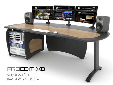 ProEdit XB with 12U rack