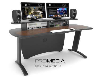ProMedia grey & walnut