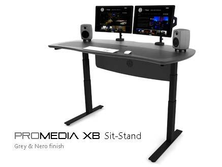 ProMedia Sit-Stand desk