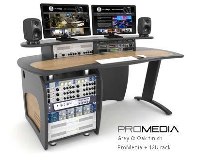 ProMedia with rack