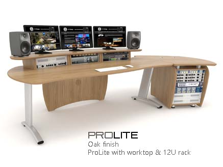 ProLite with worktop and rack