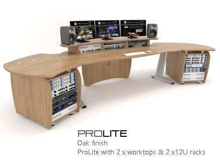 ProLite with worktops and racks