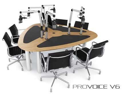 Provoice V6 podcast desk