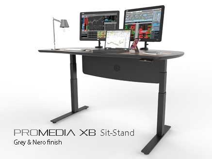 ProMedia XB Sit Stand desk