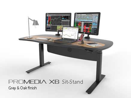 ProMedia Xb sit-stand desk