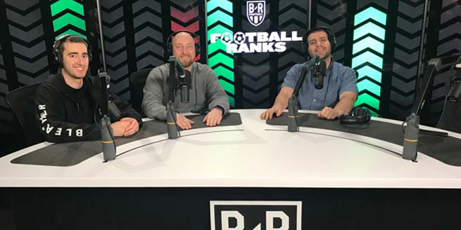 Bleacher report podcast desk