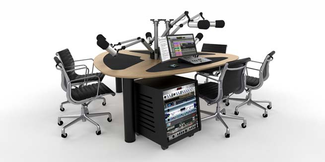 ProVoice V6 Podcast Table